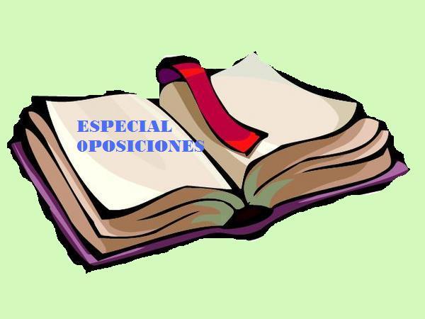 ESPECIAL OPOSICIONES